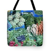 Vegetables At German Market Tote Bag