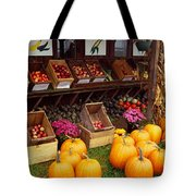 Vegetables In A Market, Grand Rapids Tote Bag