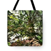 Vegetation Takeover Tote Bag