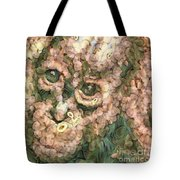 Vegged Out Monkey Tote Bag
