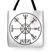 Vegvisir Icelandic Stave Tote Bag