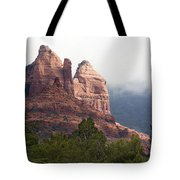 Veiled In Clouds Tote Bag