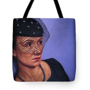 Veiled Tote Bag by James W Johnson