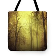 Veiled Trees Tote Bag