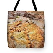 Vein Of Gold In Valley Of Fire State Park Tote Bag