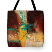 Vein Turquoise Tote Bag