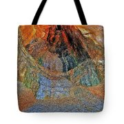 Veins Of The Earth Tote Bag