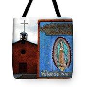 Velarde Church 1817 Tote Bag