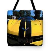 Velocity Yellow Tote Bag