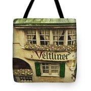 Veltliner Keller Tote Bag