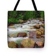 Velvet Green Forest Tote Bag