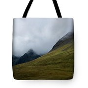 Velvet Hills In The Mist Tote Bag
