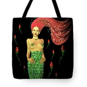 Velvet Mermaid Tote Bag