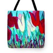 Velvet Tulips Tote Bag