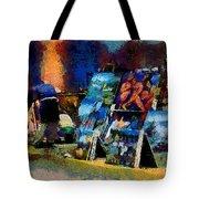 Vendedor De Pinturas Tote Bag