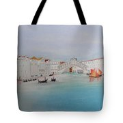 Venezia Canal Of Old Tote Bag
