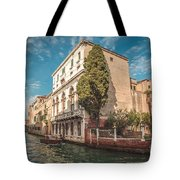 Venetian Architecture And Sky - Venice, Italy Tote Bag
