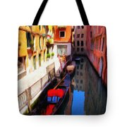 Venetian Canal Tote Bag by Jeff Kolker