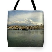 Venetian Harbour Hania Tote Bag