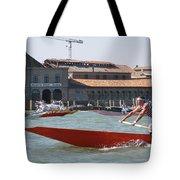 Venetian Rowing Racers Tote Bag