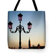 Venetian Sunset Tote Bag by Dave Bowman