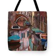 Venezia A Colori Tote Bag