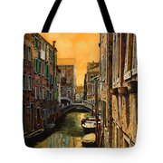 Venezia Al Tramonto Tote Bag
