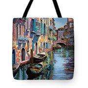 Venezia In Rosa Tote Bag by Guido Borelli