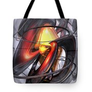 Vengeance Abstract Tote Bag