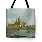 Venice. A View Of The Church Of San Giorgio Maggiore Tote Bag
