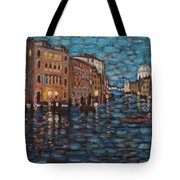 Venice At Night Tote Bag
