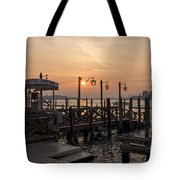 Venice At Sunset Tote Bag