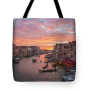 Venice At Sunset - Italy Tote Bag