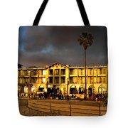Venice Beach. Golden Sunset Tote Bag