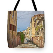 Venice Bridge Crossing 1 Tote Bag