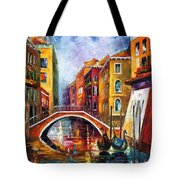 Venice Bridge Tote Bag