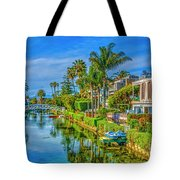 Venice Canals And Houses 4 Tote Bag