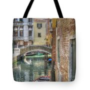 Venice Channels1  Tote Bag