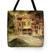 Venice City Of Bridges Tote Bag