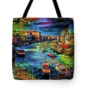 Venice Coming And Going Tote Bag