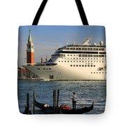 Venice Cruise Ship 2 Tote Bag