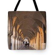 Venice - Doge's Palace Arcade Tote Bag