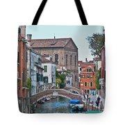 Venice Double Bridge Tote Bag