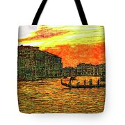 Venice Eventide Tote Bag