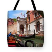 Venice From A Gondola Tote Bag