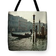 Venice Gondola Tote Bag