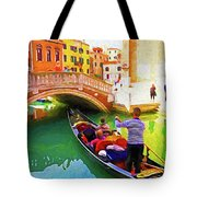 Venice Gondola Series #1 Tote Bag