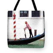 Venice Gondola Series #5 Tote Bag