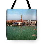 Venice Grand Canal And St Mark's Campanile Tote Bag