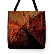 Venice In Golden Sunlight Tote Bag